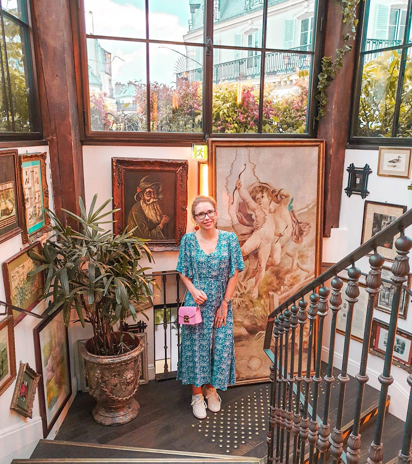 Treppenhaus Pink Mamma, Paris