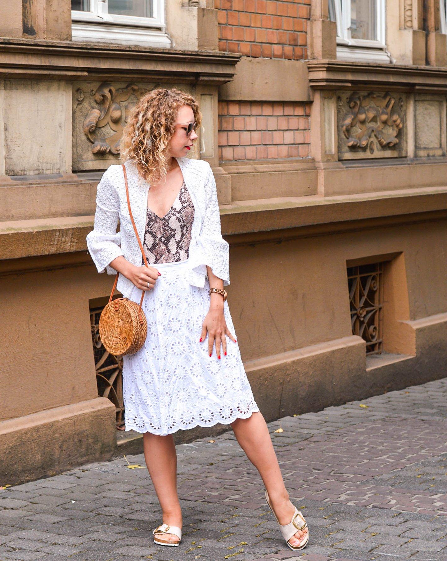 Birkenstock Madrid big buckle outfit