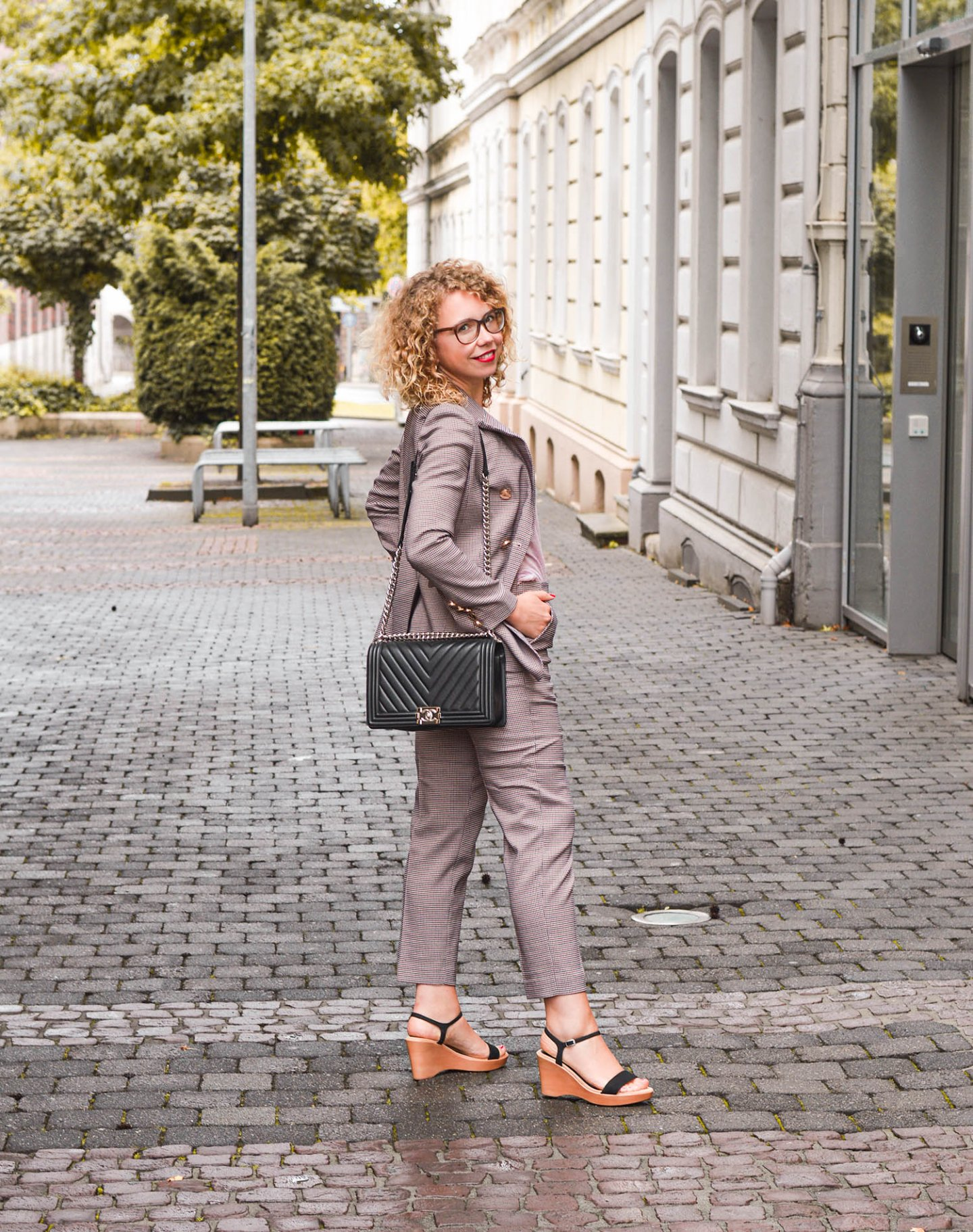 herbstlicher business look