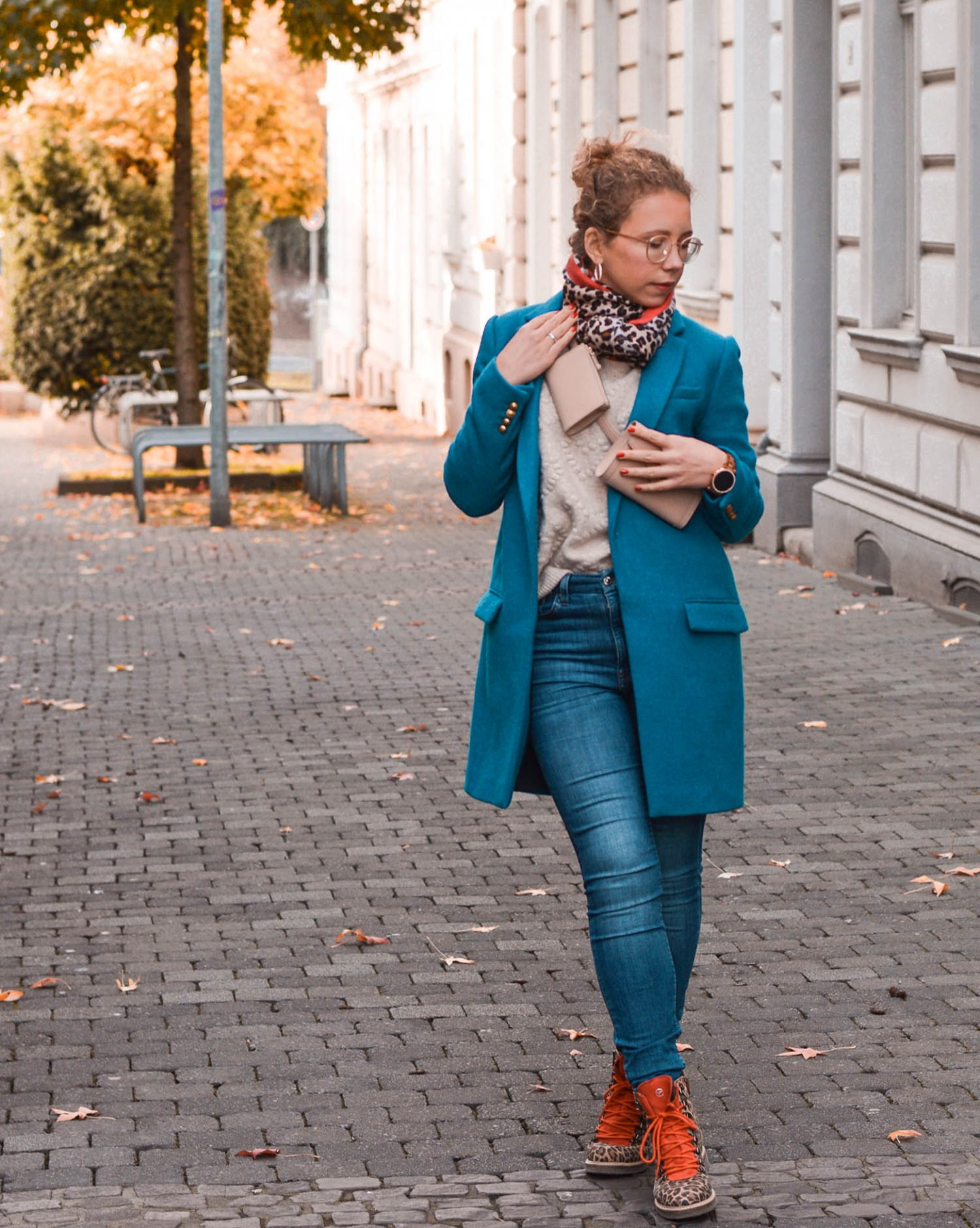 herbst outfit 2019 mit belt bag