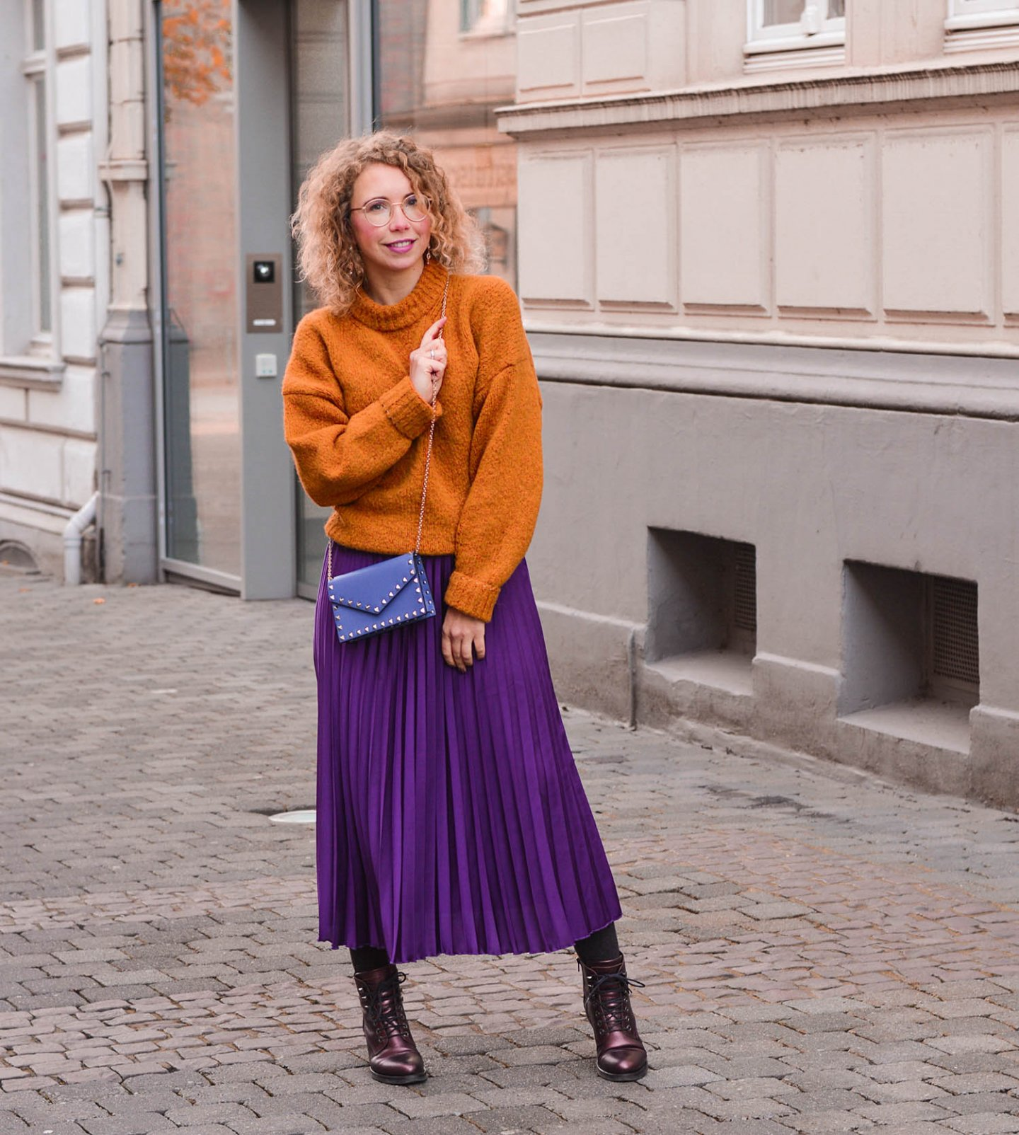 farbe tragen im winter - outfit Inspiration
