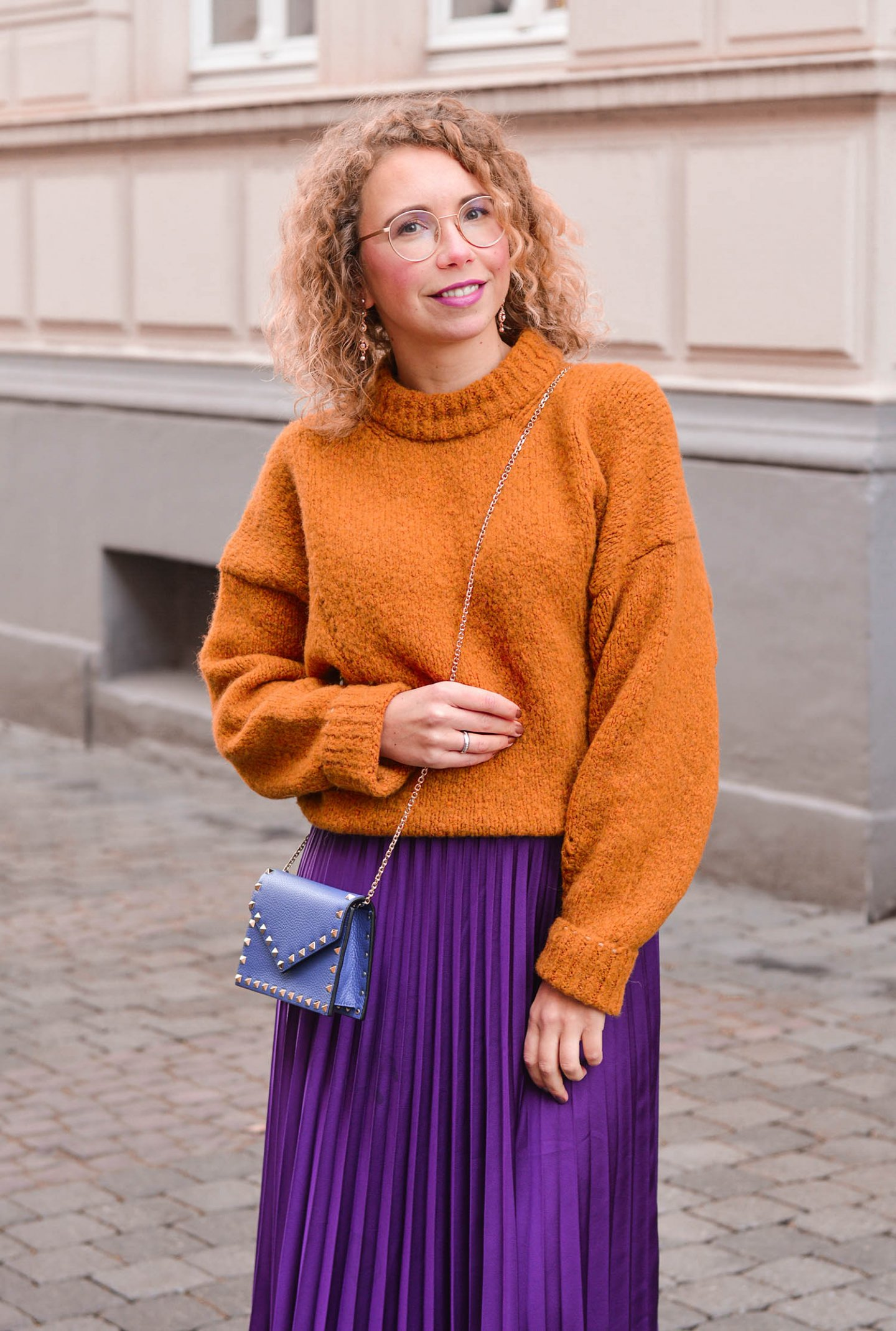 color-blocking outfit idee