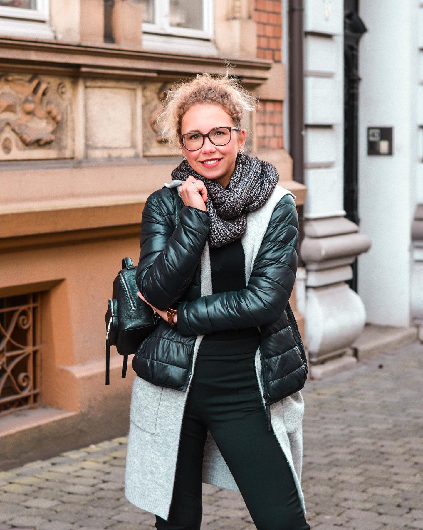 Winter Outfit: Lässig im Lagenlook