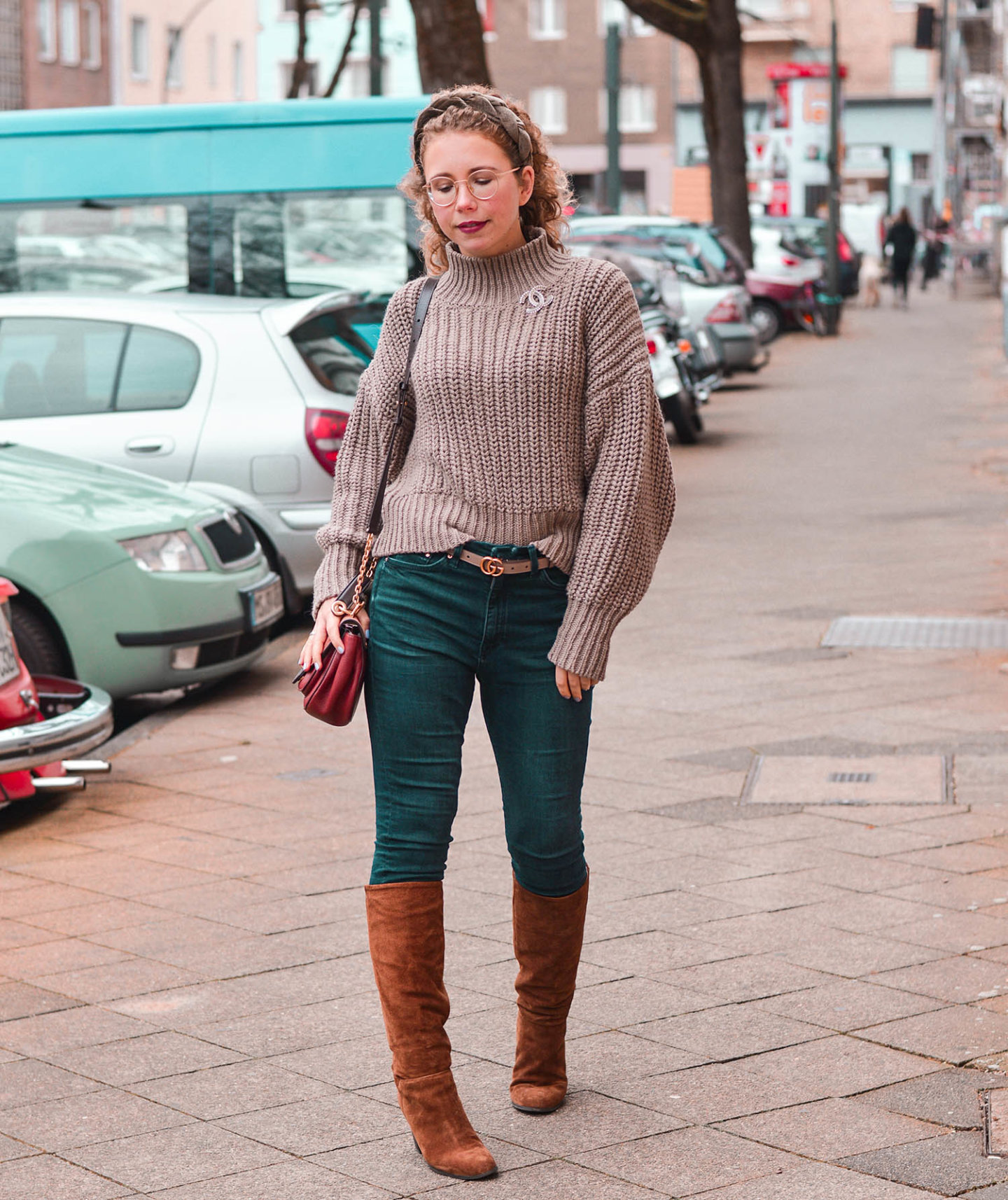 Jeans-Stiefel-Kombi