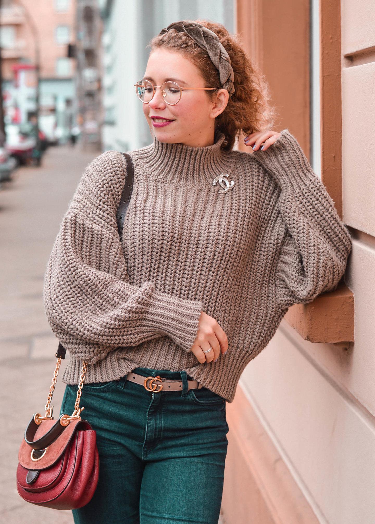 Geflochtener Haarreif aus Samt - Fashion-Trend 2020