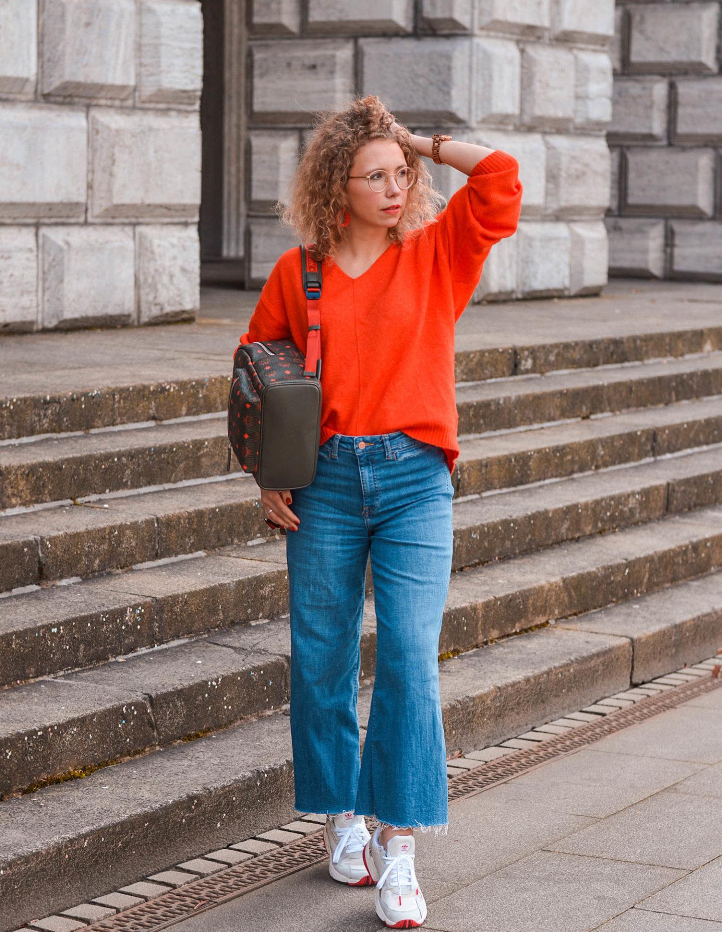 fashion-rucksack und frühlingslook