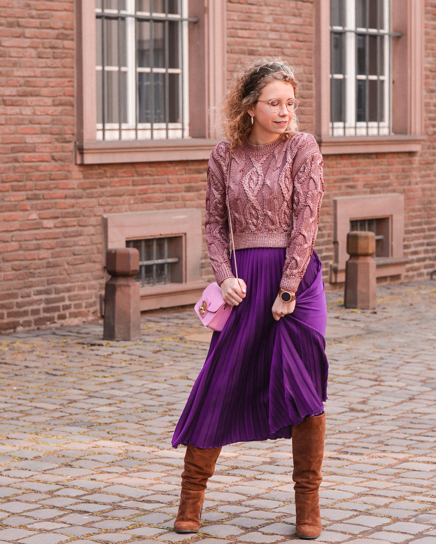 modern gypsy mit faltenrock