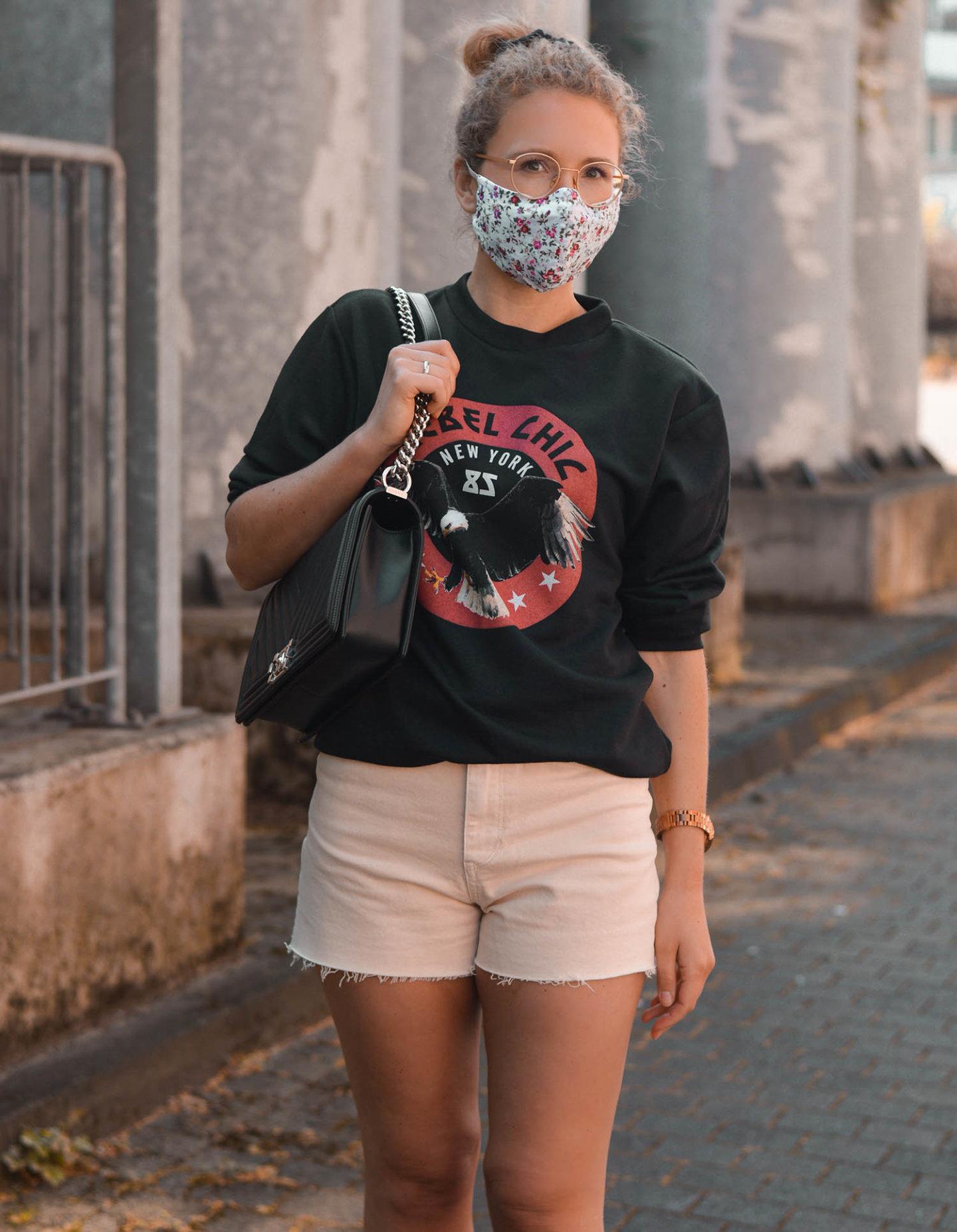 mund-nasen-schutz als fashion-accessoire in corona-krise