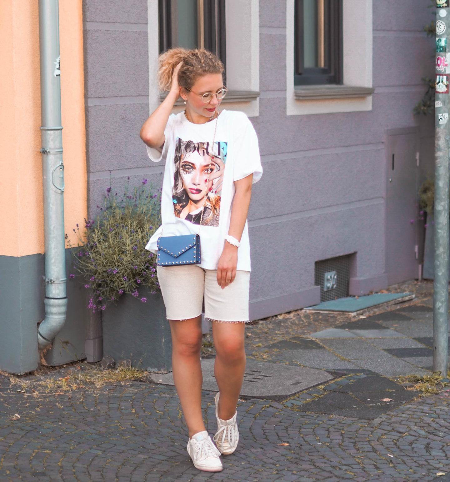 VOGUE T-Shirt Streetstyle von Fashionblogger Kationette